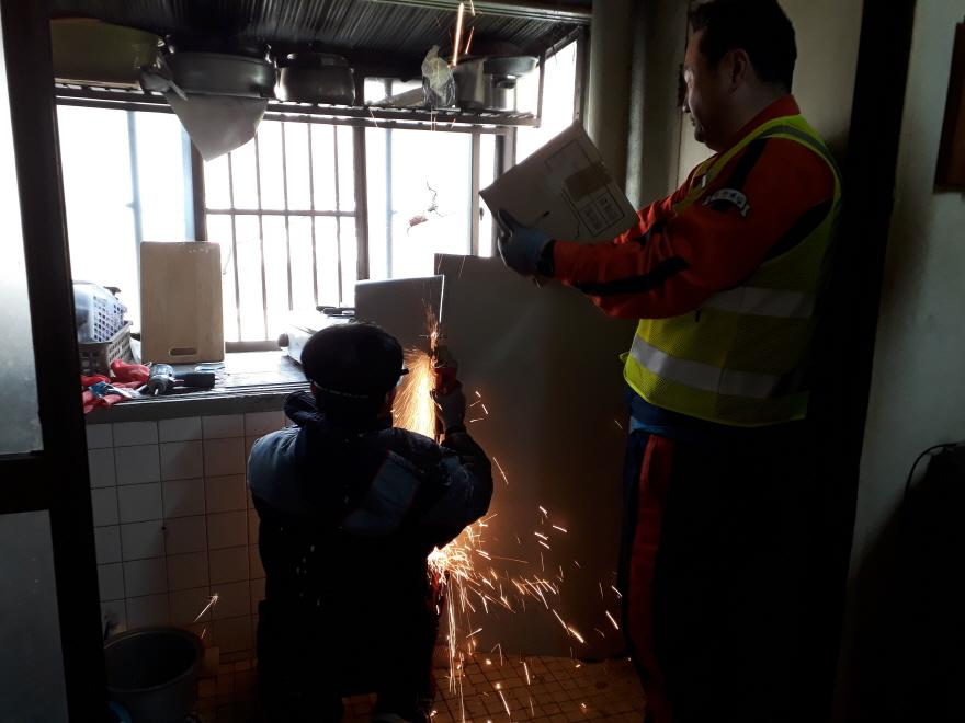 교량관리처 해피안전울타리 주거환경개선 기술봉사 현장사진3